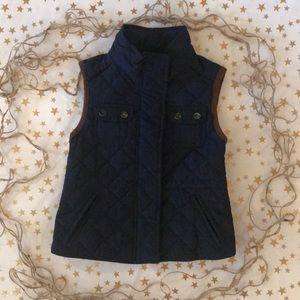 Zara equestrian style quilted vest